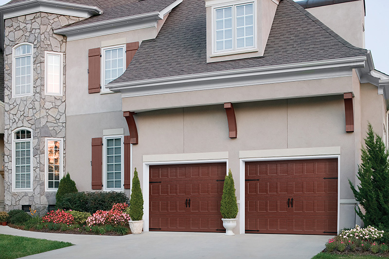 Steel Carriage House Garage Doors:
